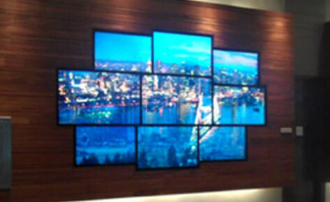 Architecture LED Video Wall