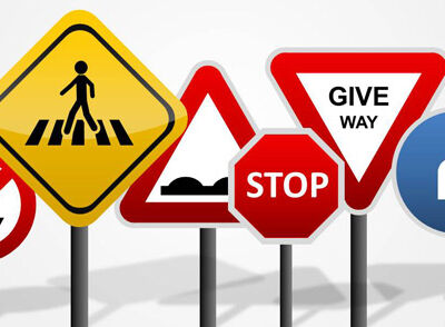 Safety Signs & Directional Stickers